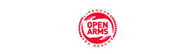 Logo campaña Crowdfunding Open Arms